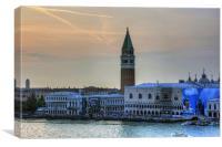Piazza San Marco at Dusk, Canvas Print