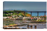 North Queensferry, Canvas Print