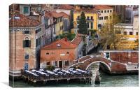 Ristorante Lineadombra, Canvas Print