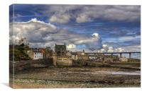 Clouds over South Queensferry, Canvas Print