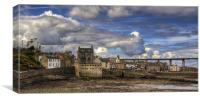 Clouds over South Queensferry Panorama, Canvas Print