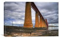 How big is this bridge?, Canvas Print