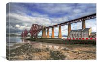 Bridge and RNLI, Canvas Print