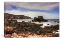 Rocks at St Abbs, Canvas Print