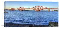 The Bridge Uncovered, Canvas Print