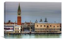 Morning Light in Piazza San Marco, Canvas Print