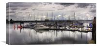 The Marina at South Queensferry, Canvas Print