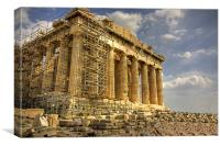 The Parthenon, Canvas Print