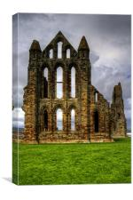 Abbey Ruin, Canvas Print