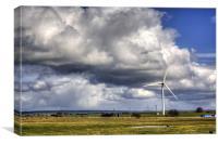 Wind Power, Canvas Print