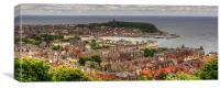 Scarborough Panorama, Canvas Print
