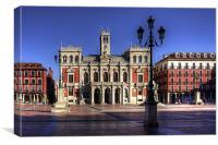 Valladolid Town Hall, Canvas Print