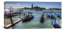 Bacino di San Marco, Canvas Print