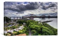 The Bridge from North Queensferry, Canvas Print