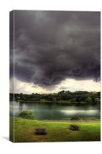 Just before the Storm, Canvas Print