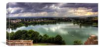 Storm Clouds over Linlithgow Loch, Canvas Print