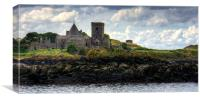 The Abbey by the Sea, Canvas Print