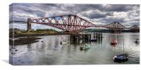 The Bridge from North Queensferry Bay, Canvas Print