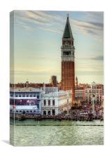 Campanile di San Marco, Canvas Print