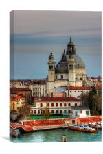Domes and Cupolas, Canvas Print