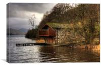 The Duke of Portland Boathouse, Canvas Print