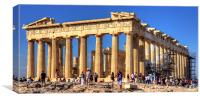 Temple of the Goddess Athena, Canvas Print