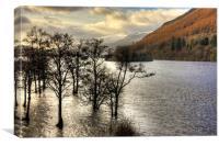 Loch Tay Winter, Canvas Print