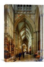 North East Aisle, Canvas Print
