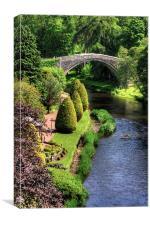 Bridge over the Doon, Canvas Print
