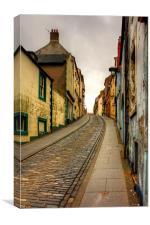 West Street, Berwick, Canvas Print