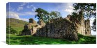Pendragon Castle Ruin, Canvas Print