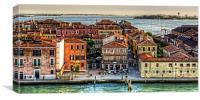 Ristorante Al Redentor, Canvas Print