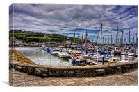 Bulwark Quay, Canvas Print