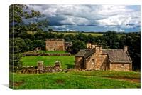 Craignethan Castle, Canvas Print
