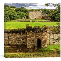 Craignethan Castle Entrance, Canvas Print
