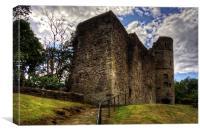 Strathaven Castle, Canvas Print