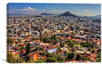 Athens, Canvas Print