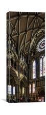 South Transept, Canvas Print