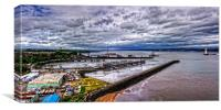 New Forth Crossing - 18 May 2014, Canvas Print