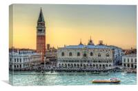 Early Evening Light in Piazza San Marco, Canvas Print