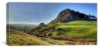 Loudoun Hill View, Canvas Print