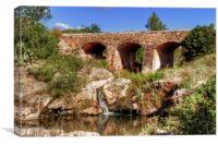 Pont Vell de Santa Eulalia, Canvas Print