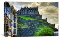 Edinburgh Castle Hospital, Canvas Print