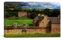 The Castle at Craignethan, Canvas Print