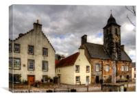 Town House, Canvas Print