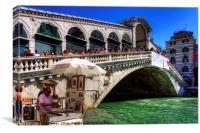 Rialto Bridge, Canvas Print