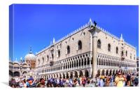 Palazzo Ducale, Canvas Print