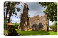 Avondale Castle, Canvas Print