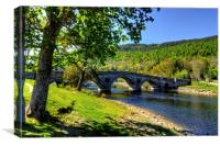 The Bridge at Kenmore, Canvas Print