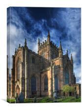 The Abbey Church of Dunfermline, Canvas Print